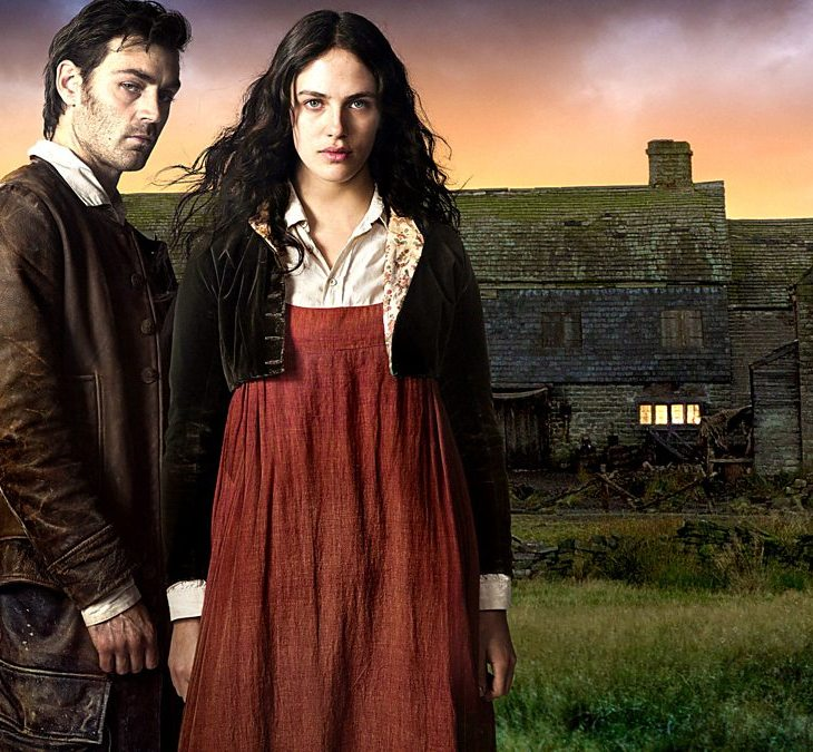 Mary Yellan and Jem from 'Jamaica Inn' stare moodily at the camera
