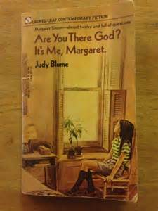 Book cover of Are You There God, It's Me Margaret by Judy Blume