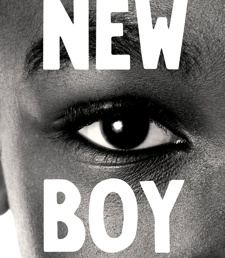 Book cover of 'New Boy' by Tracey Chevalier