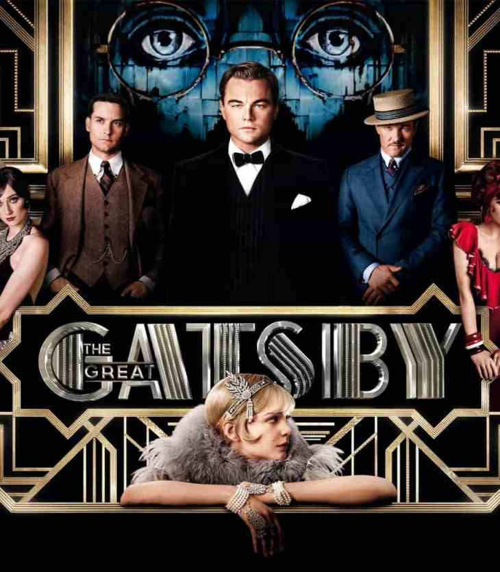 Film image of 'The Great Gatsby' featuring the cast