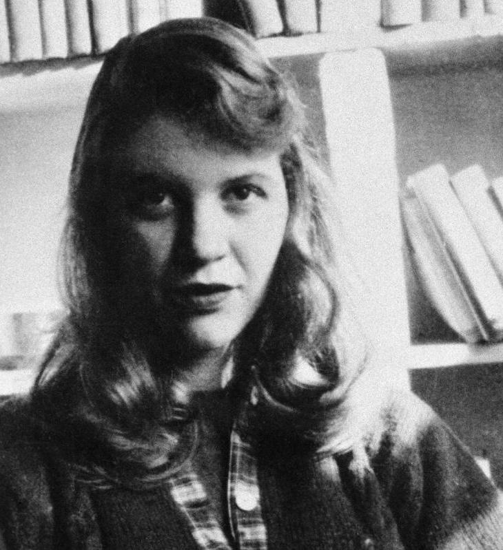 Image of author Sylvia Plath