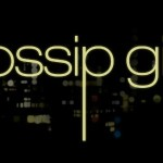 Image of the Gossip Girl logo, golden letters on a black background