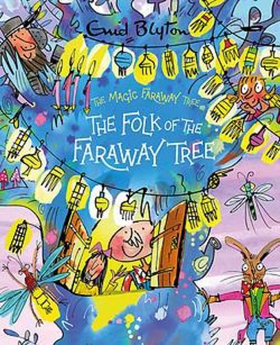 Book cover of Enid Blyton's 'Faraway Tree'