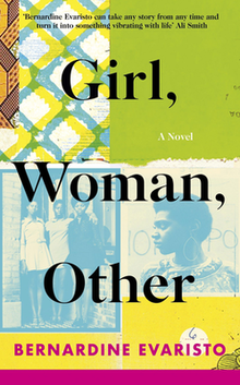 Book cover of Girl, Woman, Other