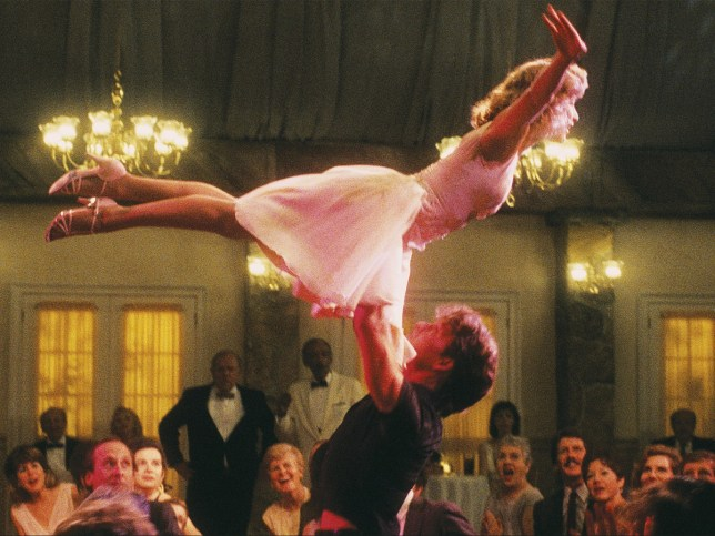 The classic lift from Dirty Dancing