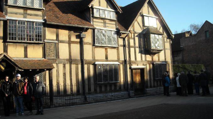 An old house, Tudor style.