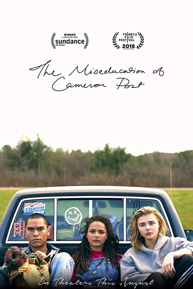 Cover of 'The Miseducation of Cameron Post' by Emily Danforth.