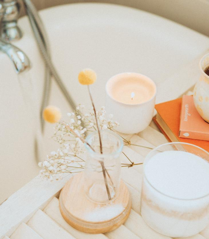 Image of a relaxing bath