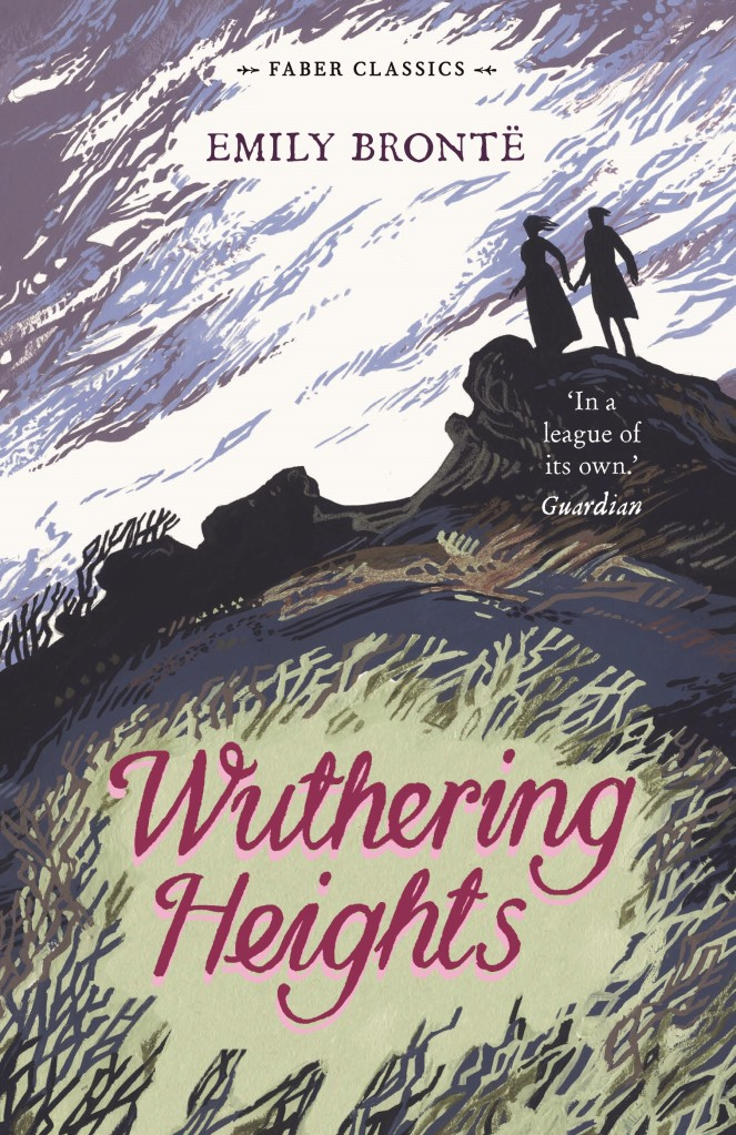 The book cover of 'Wuthering Heights' by Emily Bronte