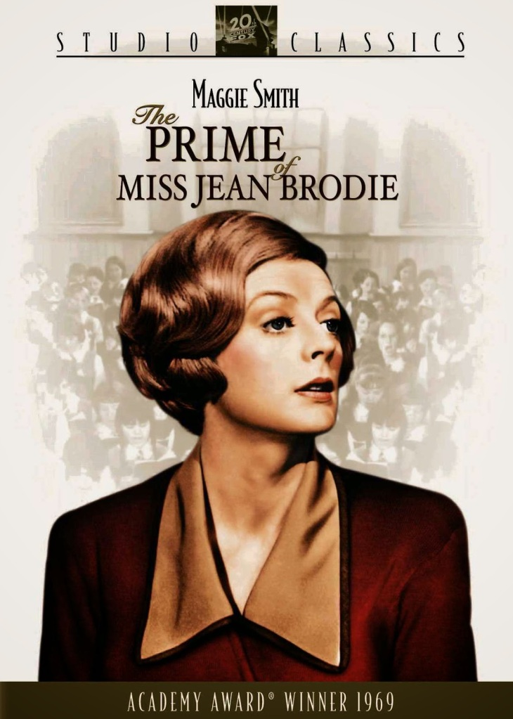 The book cover of 'The Prime of Miss Jean Brodie' by Muriel Spark