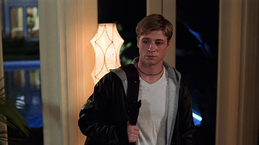 Ryan Atwood from 'The O.C.' stares into space, moody.