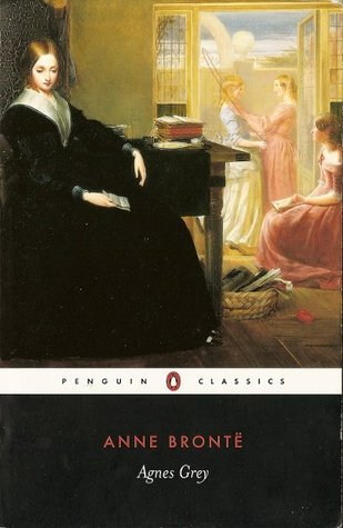 The book cover of 'Agnes Grey' by Anne Bronte