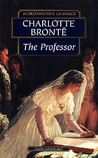 The book cover of 'The Professor' by Charlotte Bronte