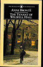 The book cover of 'The Tenant of Wildfell Hall' by Anne Bronte
