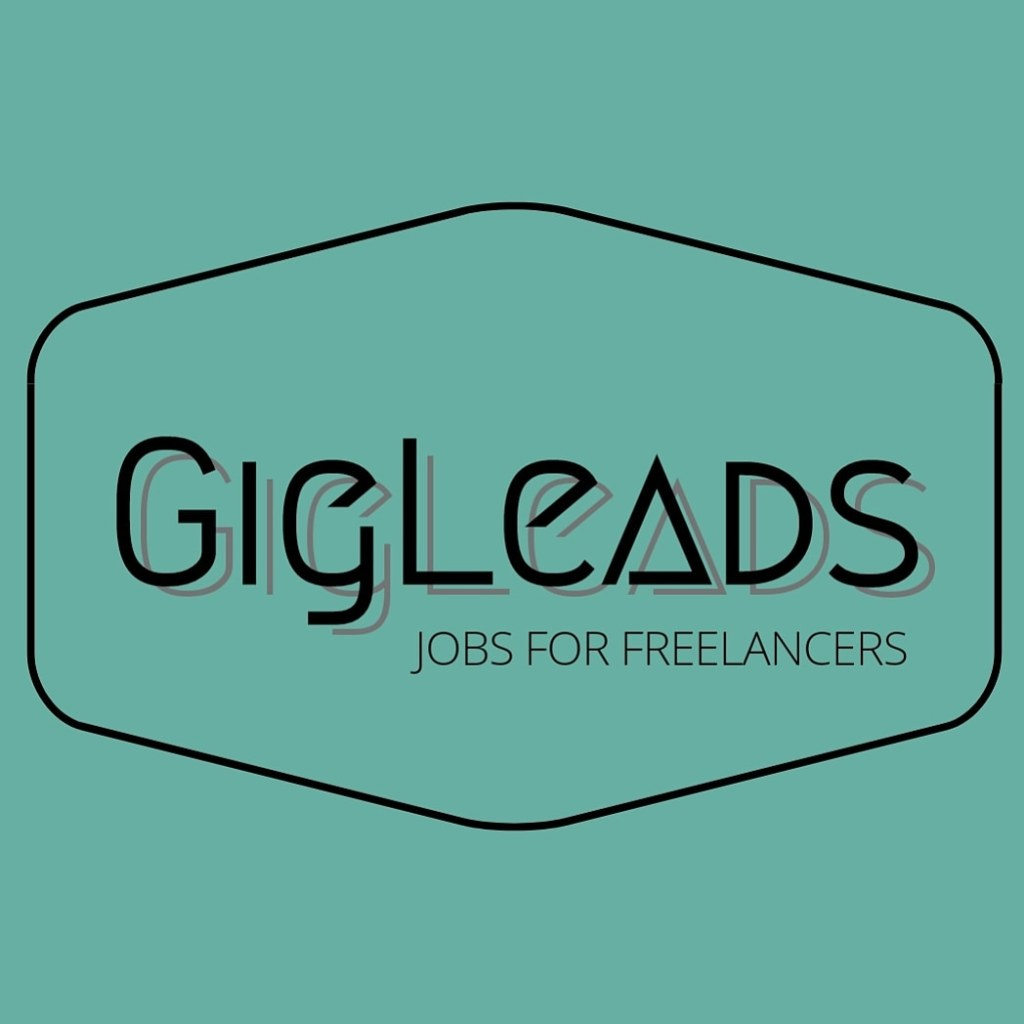 "Gig Leads logo, ""Gig Leads, Jobs for Freelancers"""