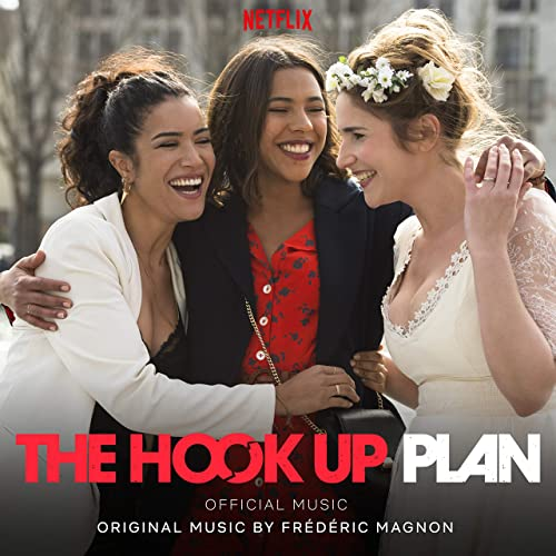 An image from the series 'The Hook-Up Plan'. Three friends laugh together.