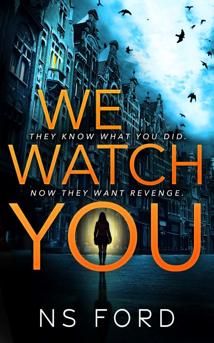 The front cover of N. S. Ford's 'We Watch You'.